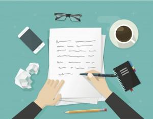 Writing sacrifices every writer must make